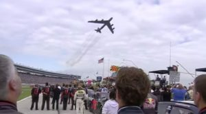 B-52 Flies Over Nascar Race During Anthem At Just The Right Time-This Makes Me So Proud
