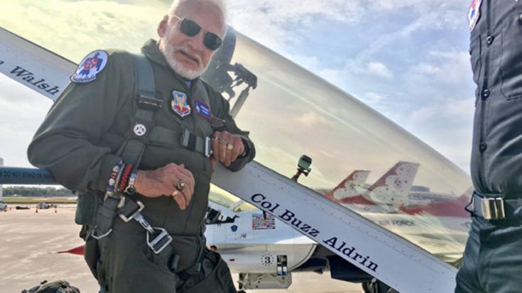 News   Buzz Aldrin Breaks Yet Another World Record- This Time At 87   World War Wings Videos