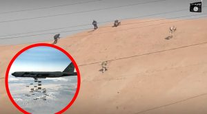 This Is ISIS Bunched Up On A Hill Before A B-52 Drops Its Load