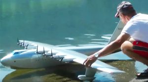 These Folks Pay Ultimate Homage To The Spruce Goose-Build Huge RC That Actually Flies