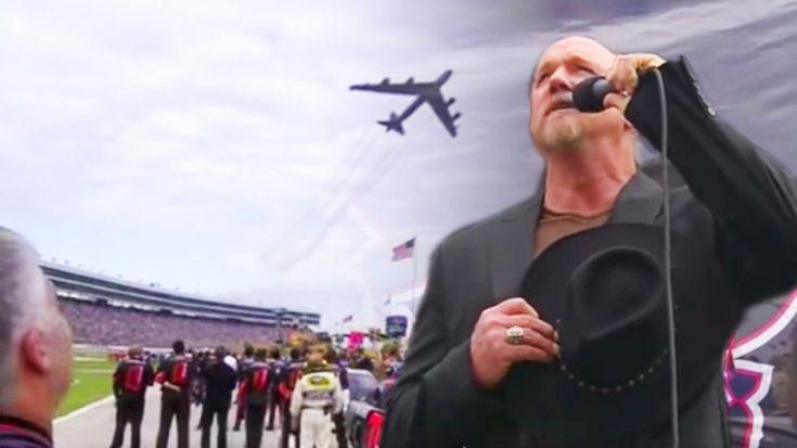 Trace Adkins Anthem Bomber Nascar X on Nascar Fights Youtube