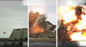 Powerful Artillery Shells Vs. Heavy Armor In Slow Motion