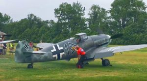 Legendary Bf-109 Igniting Its Engine Loud – Hear The Roar