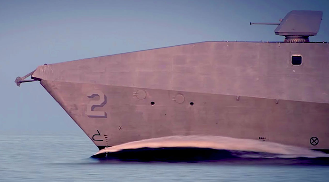 How America's Fastest Combat Ship Reaches Tremendous ...