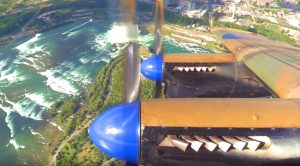 One Of The Last Lancaster Bombers Soars Over Niagara Falls – A Sight You've Got To See