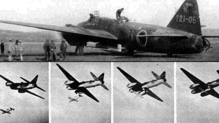 Deadly Japanese Suicide Rocket Unleashed – Watch The Pilot Become A Human Bomb | World War Wings Videos