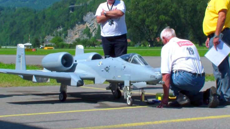Gigantic Scale RC A-10 Warthog Ripping Through The Skies – Killer Speed On This Big Guy! | World War Wings Videos