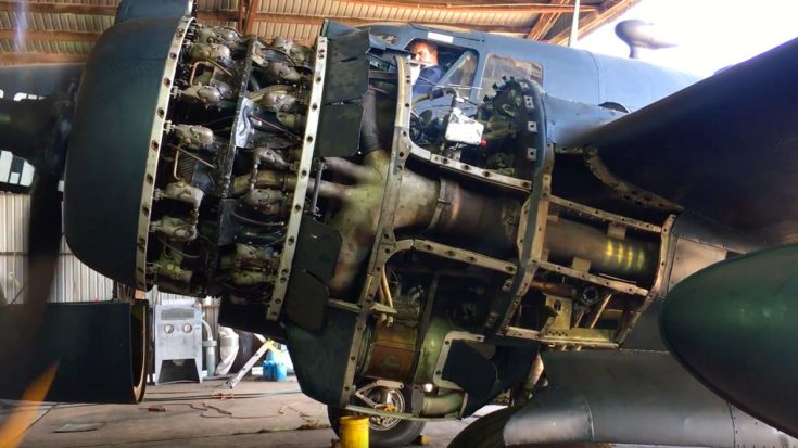 Giant Ventura Bomber Gets An Engine Overhaul – Cover Your Ears For This One! | World War Wings Videos
