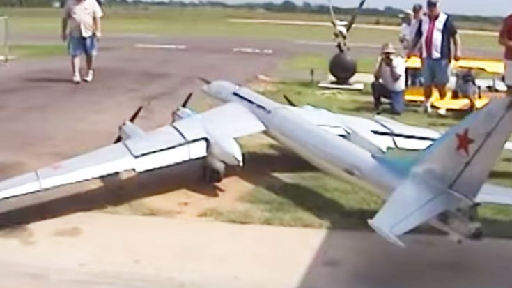 This Guy Build A Massive Rc Tu-95 'Bear'-To Scale, It's Probably Just As Loud! | World War Wings Videos