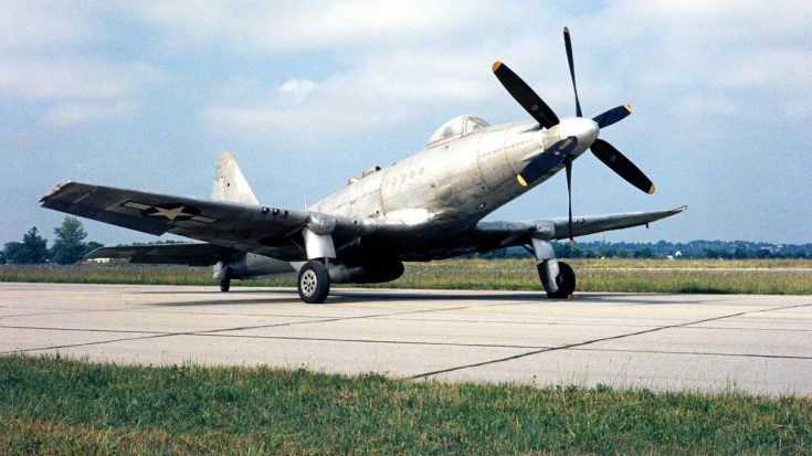 This Strange Plane Was Made From Mustang, Corsair And Dauntless Parts | World War Wings Videos