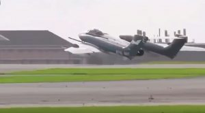 Sea Vixen's Gears Jammed Up This Weekend-Pilot Nailed The Belly Landing Though