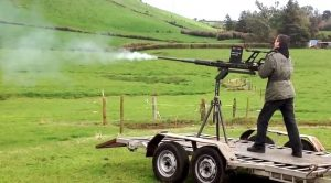 This Guy Just Fired A 20mm Oerlikon After 50 Years-Swiss Engineering For Ya