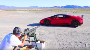 20 MM Gun, $200,000 Lamborghini And A Watermelon – What Could Possibly Go Wrong?
