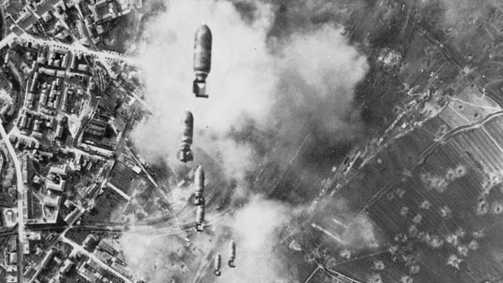 Aerial bombing of cities