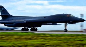 B-1 Bombers Deployed Korean Penninsula In Show Of Force