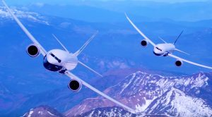 Gigantic 787 Dreamliner Soars In Extremely Tight Formation With 737 MAX
