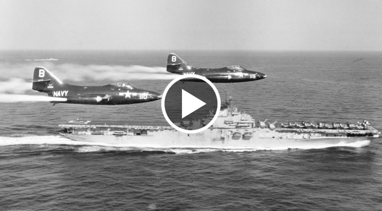 F9F Panther - The First Navy Jet Dogfight And Champion Of ...