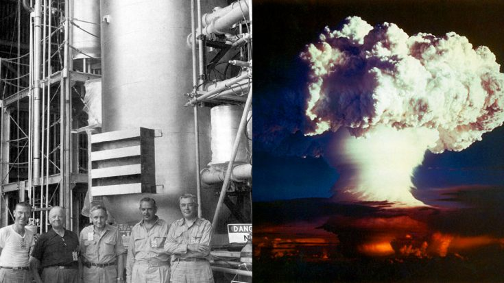 a history and creation of first hydrogen bomb What is a hydrogen bomb history the first time the principle of a hydrogen bomb was tested was on 9 since the creation of lives could not be destroyed by.