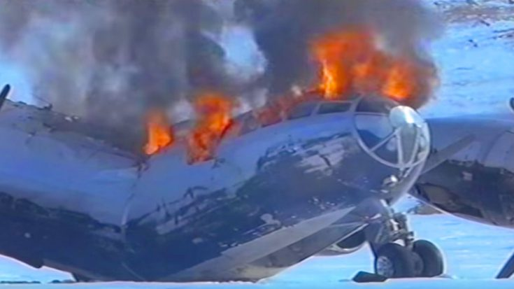Priceless B-29 Restored After Being Frozen For 50 Years – Explodes During Takeoff | World War Wings Videos