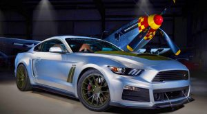 The P-51 Mustang Inspires A Powerful New Mustang – 727-Horsepower Supercharged Engine
