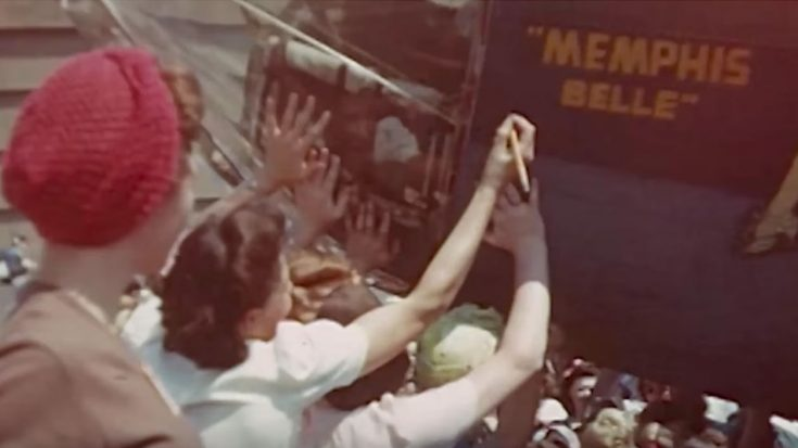 Found Footage Of The Real Memphis Belle From World War II-Tugs At Your Heart | World War Wings Videos