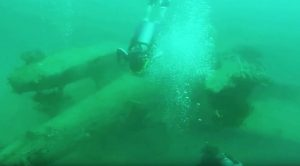 Divers Uncover The Submerged Remains Of Japan's Rarest Plane