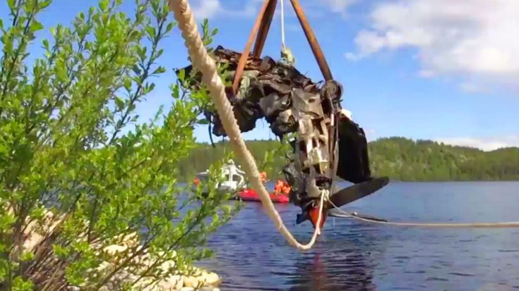 Russian Salvage Crew Recovers Bell P-39 Airacobra – Free From A Frozen Lake After 70 Years | World War Wings Videos