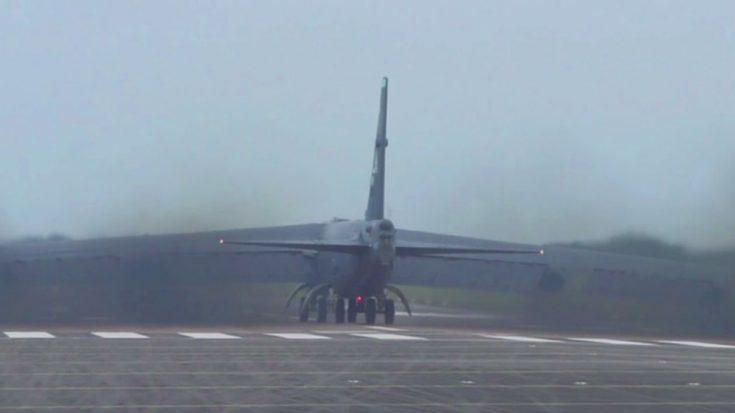 Gigantic B-52 Blasts A Tremendous Smoke Cloud – Choke On This!   World War Wings Videos