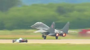 Cocky Formula 3 Race Car Driver Takes On MiG-35 – You Gotta Be Kidding Me!