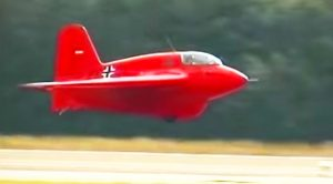 World's Only Flying Me 163 – First Rocket-Powered Aircraft Tears Through The Sky