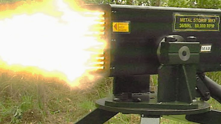 How The Hell Can This Gun Blast Over 1 Million Rounds Per Minute?   World War Wings Videos