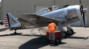 Great Sounding, Throaty Startup Of The Only Airworthy P-35 In The World