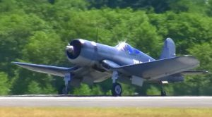 70 Years Later It's Still Flawless: Beautiful Corsair Stuns Crowd