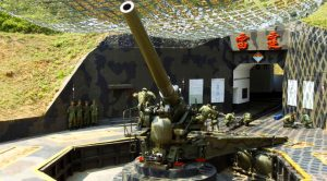 Military Uses WWII Artillery To Defend Island – And It Still Works