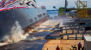US Navy Launches New $300 Million Combat Ship – But Not Everyone Is Happy About It