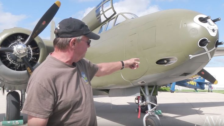 An Incredibly Detailed Tour Of The Only Airworthy A-20 Havoc In The World | World War Wings Videos