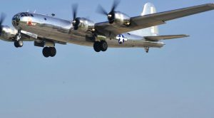 For The First Time In Decades, Two B-29s Fly Together-Fifi & Doc In The Air