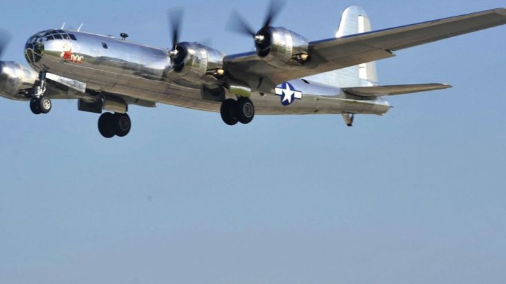 For The First Time In Decades, Two B-29s Fly Together-Fifi &