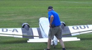 Absolutely Massive Rc Ju-52 Has Engine Troubles-Ends Up Smashing Cars
