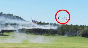 Two Huge Rc Fighters Crash Spectacularly During Airshow