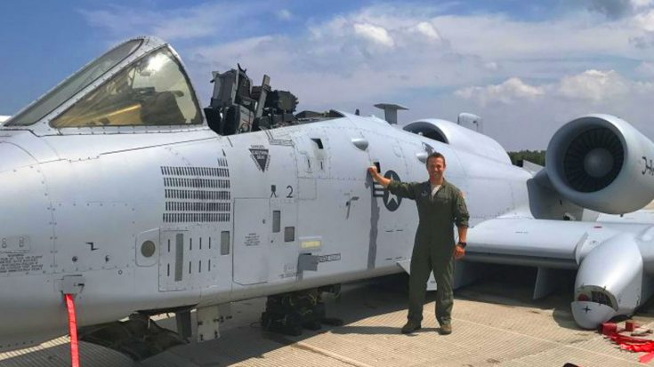 A-10 Pilot Makes Miraculous Belly Landing After Canopy Rips Off – Comes Out Unscratched   World War Wings Videos
