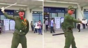 Men In China Pose As WWII-Era Japanese Soldiers – Get Mobbed By 300 Angry People