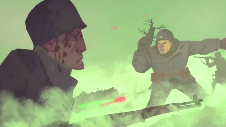Extraordinary Animated Film Brilliantly Captures The Intensity Of War Decades Ago | World War Wings Videos
