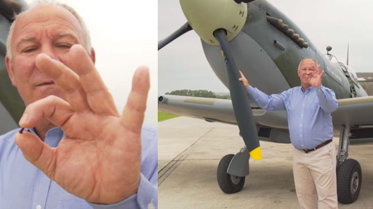 Given A Single Spitfire Rivet On A Dare – 14 Years Later He Leaves Them Speechless | World War Wings Videos