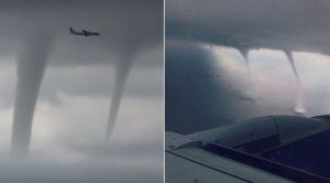Fearless Pilot Makes Terrifying Landing Bolting Through Tornadoes