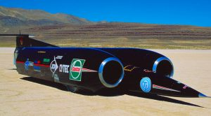 Supersonic Car – Powerhouse Engines Shatter Land Speed World Record