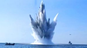 Elite Unit Tracks Down WWII-Era Mines – Gigantic Explosions Shake The Seas