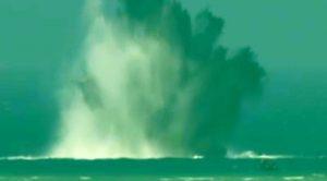 Over 100 WWII-Era Bombs Blasted In Massive Detonation Off Coast Of Okinawa