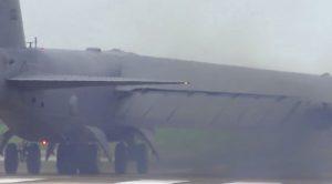 Gigantic B-52 Blasts Tremendous Smoke Cloud – Loud As Hell!
