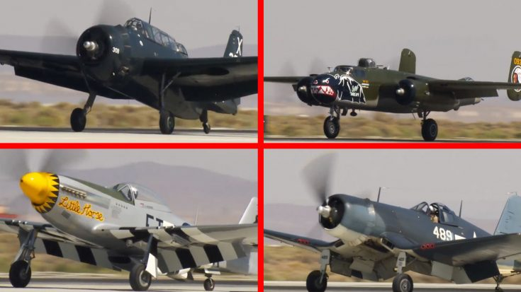 Historic Warbirds Descend On Edwards Air Force Base To Celebrate Incredible Milestone | World War Wings Videos